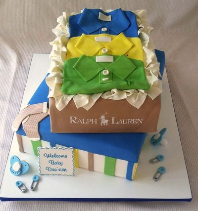 Polo themed baby shower