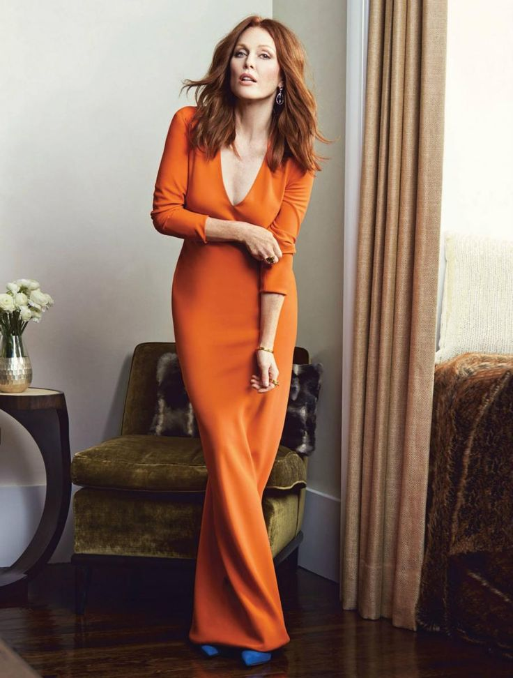 Julianne Moore: how the hell is she carrying off that colour so well?!