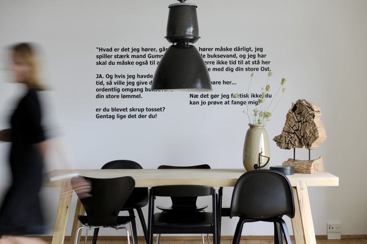 Dinning in style. CPH apartment, 8-tallet. Foto: Images by Langfeldt