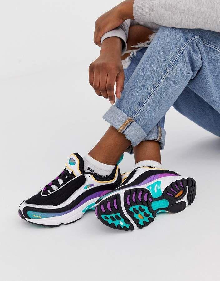 99277e452814 Reebok Daytona DMX sneakers in purple #Reebok #Sneakers #ReebokSneakers  #affiliatelink #shopstyle