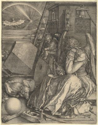 Albrecht Dürer's enigmatic Melencolia I -  a brilliant work of art by on of the greatest artists of the Northern German Renaissance