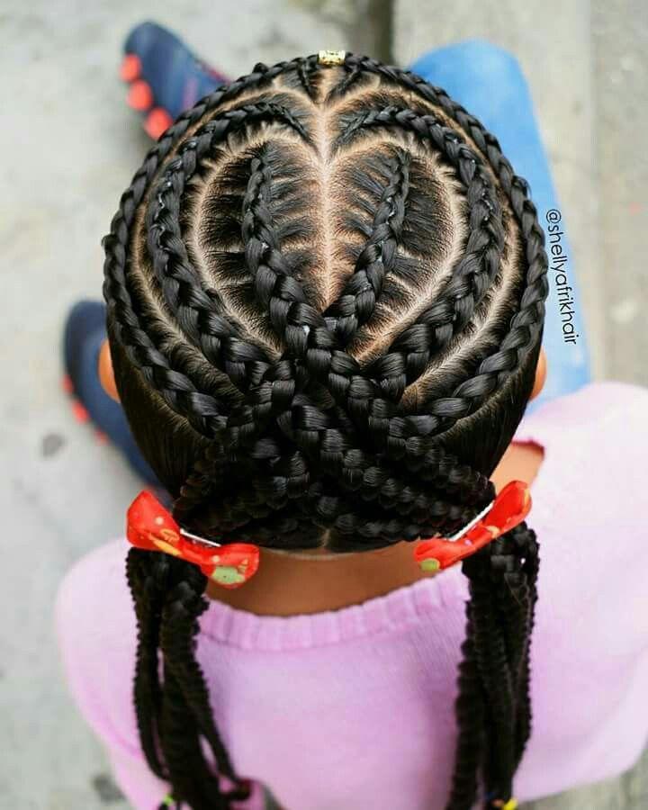 heart braid ideas