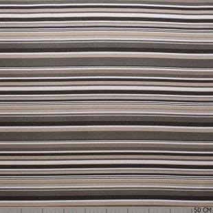 Outdoor Sunproof Stripe Multi Colour Taupe
