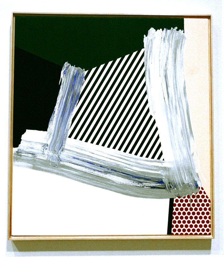 Roy Lichtenstein's Brushstroke Abstractions