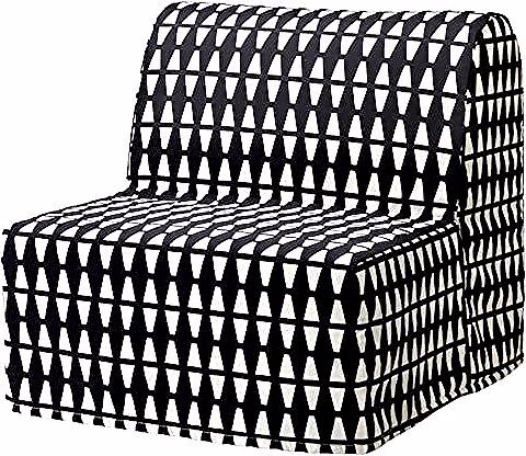 Ikea Lycksele Lovas Chauffeuse Convertible Chair Bed Firm Foam Mattress Lycksele