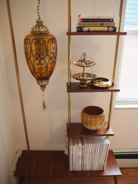 unique shelving unit with working lamp. height: 1 metre and 83 cm width: 95cm depth: 31 cm if ad is up, it is still for sale. i live in mission. offers not accepted.