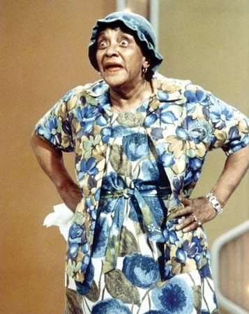 """Jackie """"Moms"""" Mabley."""