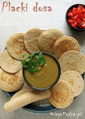 Bardzo prosty przepis na pyszne, indyjskie placki DOSA z ryżu brązowego i soczewicy. Bardzo zdrowe i dietetyczne, bo bez tłuszczu.