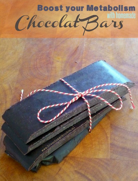 Heerlijke kokosolie chocolade repen om je stofwisseling een extra boost te geven. Vrij van geraffineerde suikers!