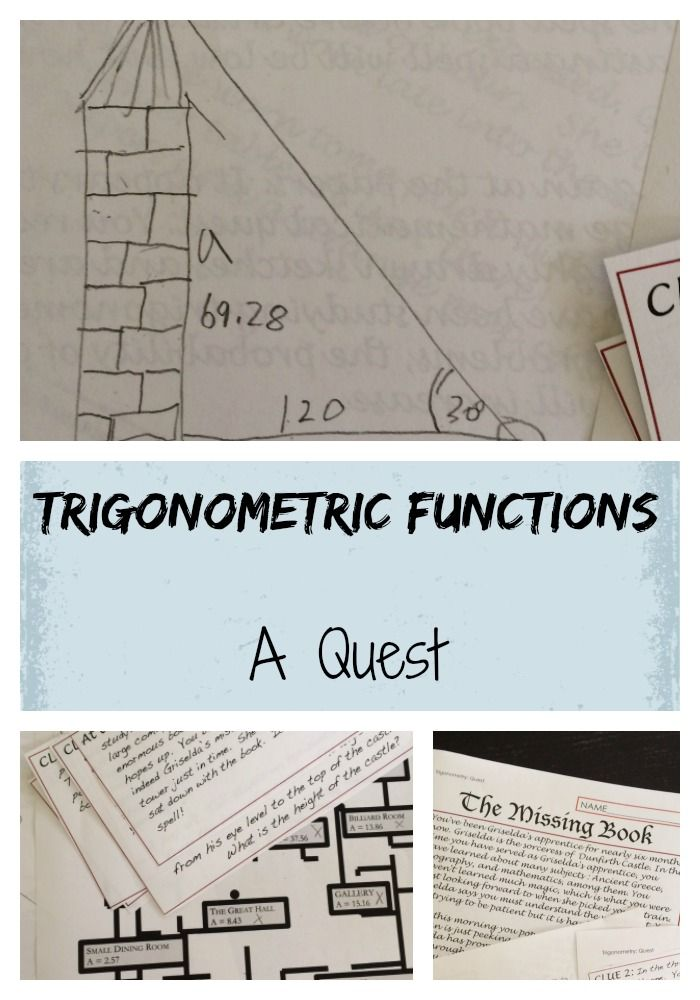 54 best algebra images on pinterest teaching math math middle test your trigonometric function skills when you embark on a quest i like this for fandeluxe Choice Image