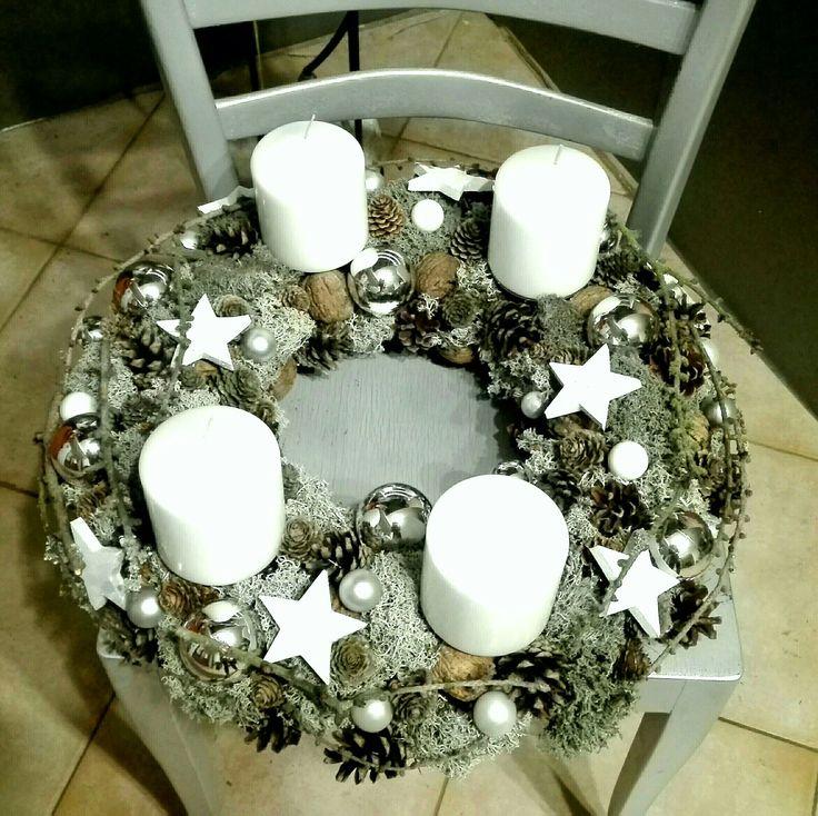Christmas advent wreath. 🎄