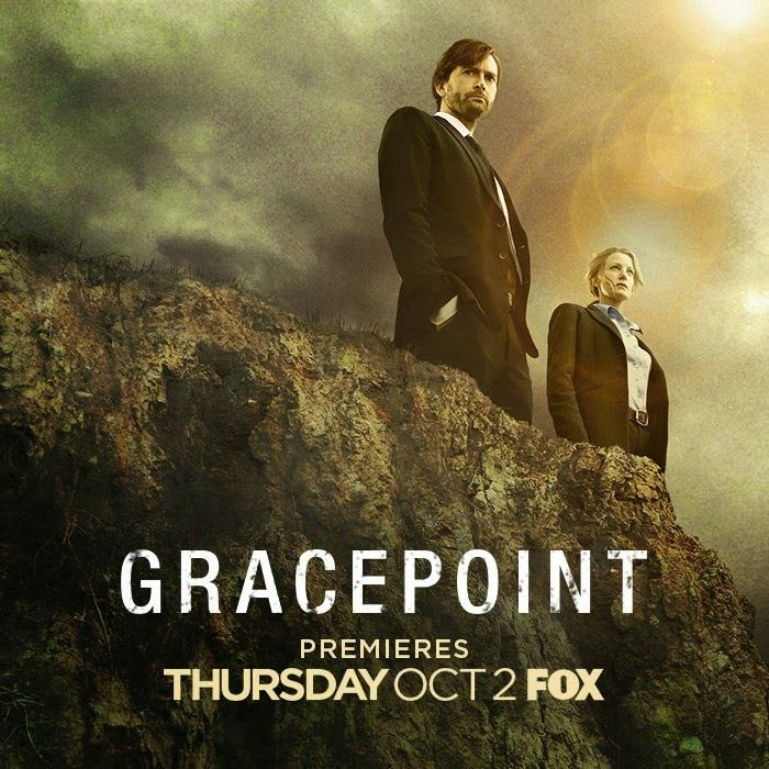 GRACEPOINT: Series Premiere On 2nd October On Fox. YAY! :D. Yes!  An American version of Broadchurch. I can hardly wait.