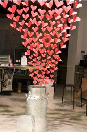 Tanto va el cántaro a la fuente... ¡Qué al final se nos llena de amor y corazones! Buenos días ;) #sanvalentin