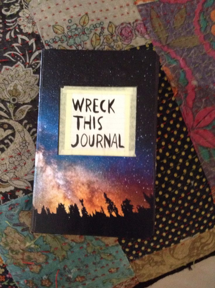 Wreck This Journal Cover 1000+ images about Wre...