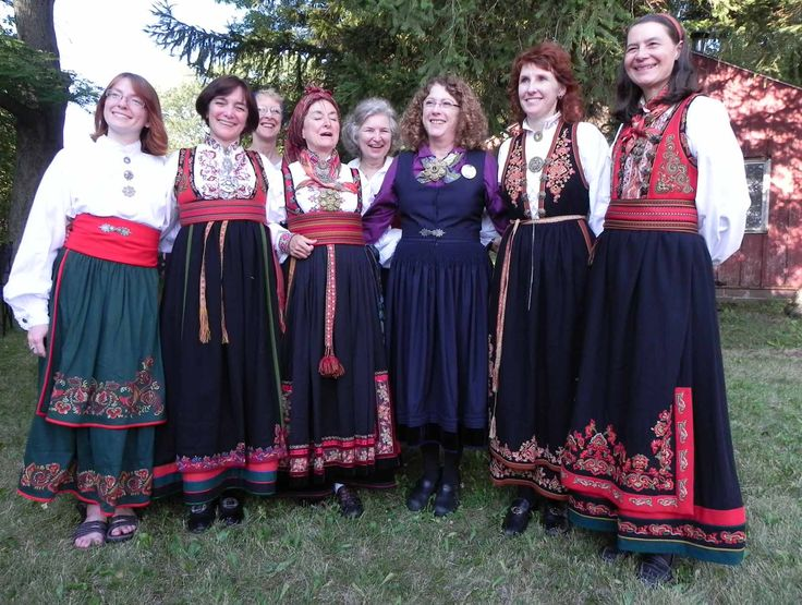 Ladies from Folklore Village.