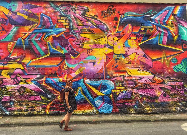Love the #streetart in Medellin, Colombia  #grafitti #visitcolombia