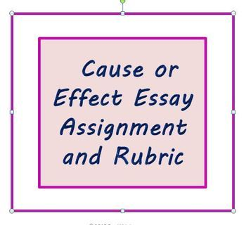 assignment cause and effect essays To write a cause and effect essay, you'll need to determine a scenario in which one action or event caused certain effects to occurthen, explain what took place and why.