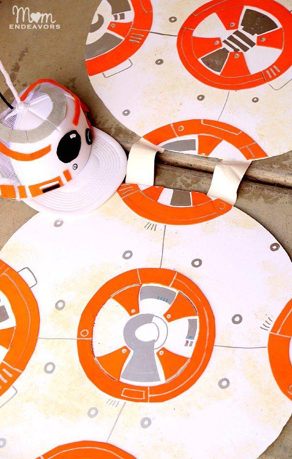 DIY Star Wars BB-8 Costume