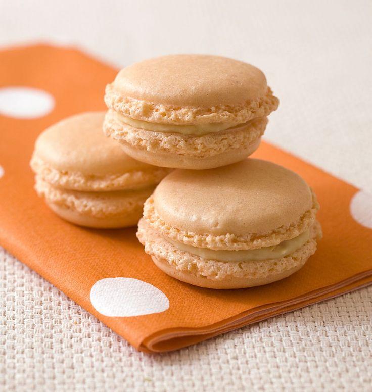 Macarons abricots chocolat blanc - Ôdélices