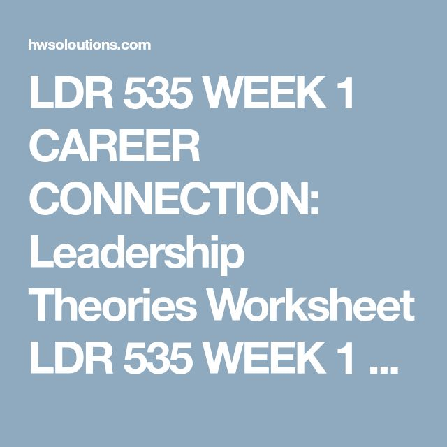 ldr 535 Ldr 535 week 5 organizational culture and leading change prepare an executive summary of no more than 350-words create a 7- to 10-slide microsoft® powerpoint .