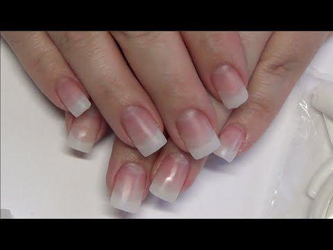 Natural Acrylic Nails Divadc Natural Powder Youtube Kiss Gel Nails Fiberglass Nails