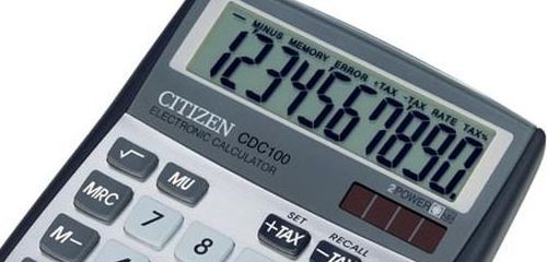 Sharp Truly Citizen Aurora asztali nagy számológép és zsebszámológép