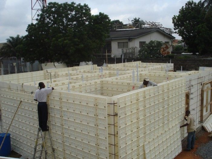 79 best images about plastic formwork on pinterest for Low cost home construction