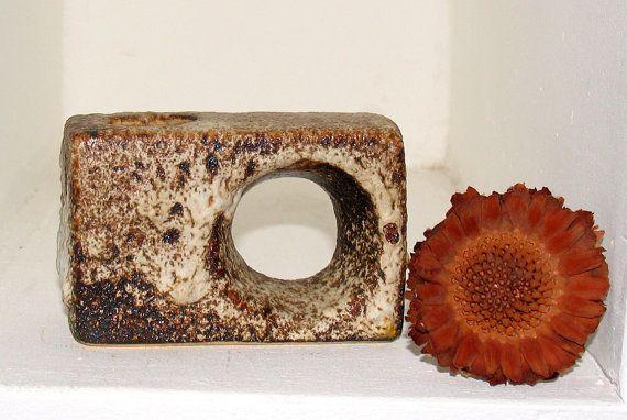 Retro Vase FAT LAVA West GERMANY Mid Century Kostbares Sammlerstück 1960er Krug