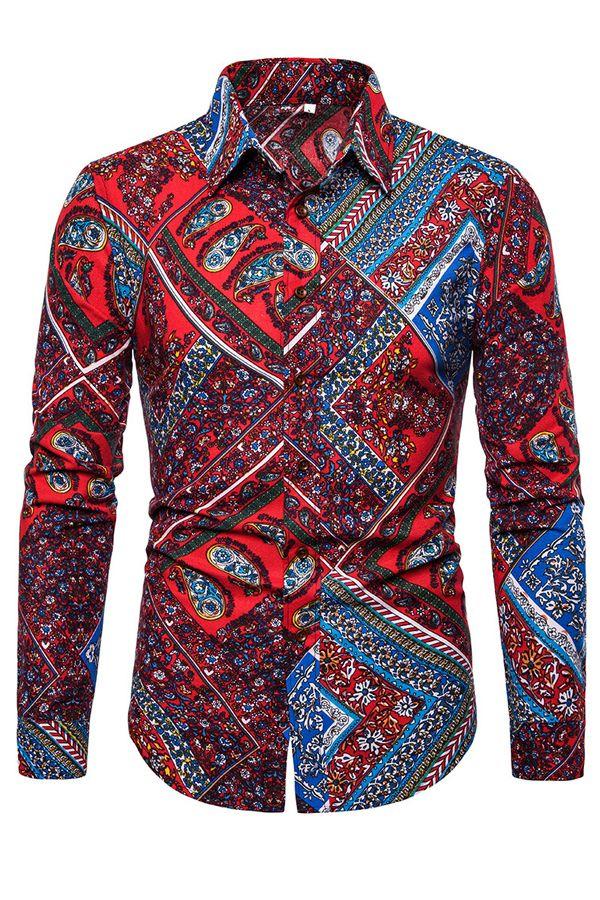 Vintage 100/% linen flowers blouse Size XL Casual shirt Short sleeve women/'s blouse Floral menswear shirt Linen buttons up shirt US size 14