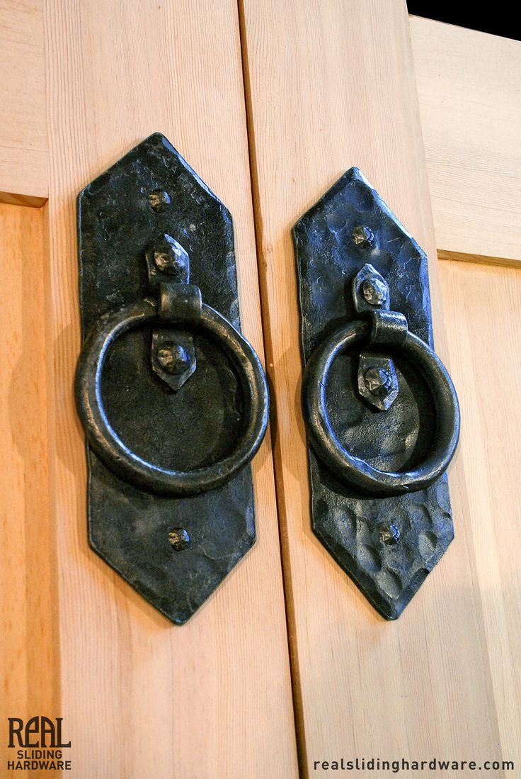 Appleseed Diamond Rustic Ring Pull Carriage Doors