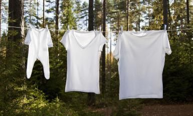 Keep white Clothes White - Getty Images