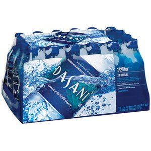 Dasani Purified Water, .5 L 24pk
