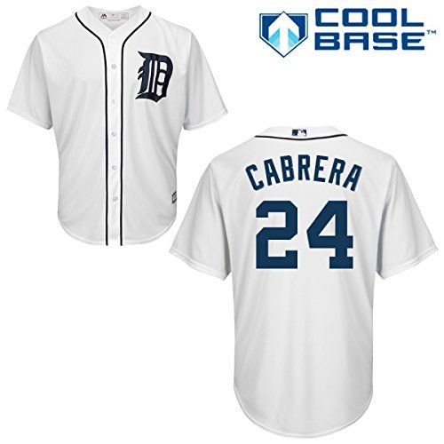 Detroit Tigers Miguel Cabrera Cool Base Home Jersey – Detroit Sports Outlet