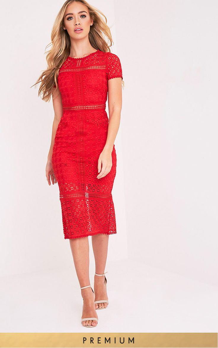 Best 25 Lace Midi Dress Ideas On Pinterest