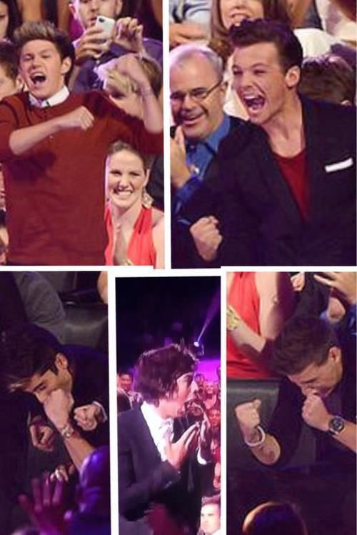 This is the most beautiful thing ever. The boys' reactions to winning
