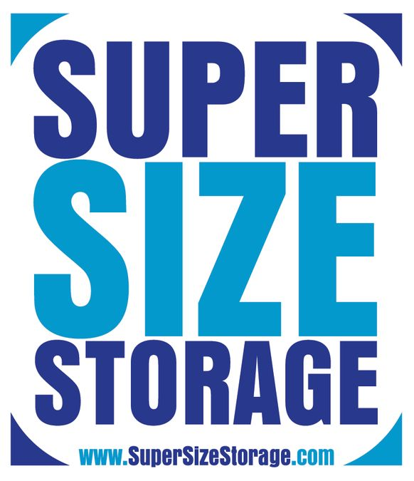 "Create a Clean Classy unlcuttered Logo for a Storage Company by the name ""Super Size Storage"" by cheeeeseburger"