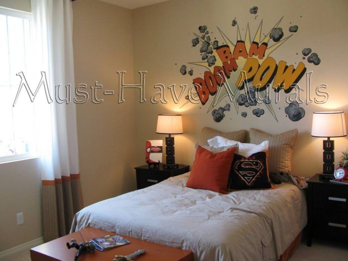 188 Best Images About Comic Book/Avengers Bedroom On