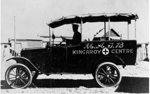 1925 Ambulance belonging to Kingaroy