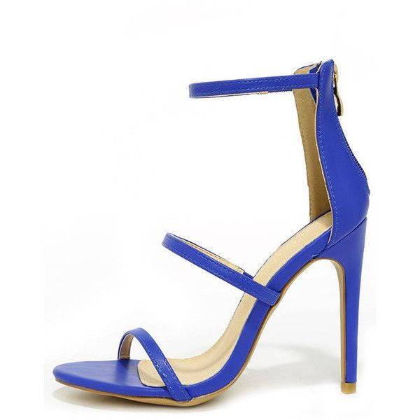 Best 25  Blue strappy high heels ideas on Pinterest | Blue strappy ...