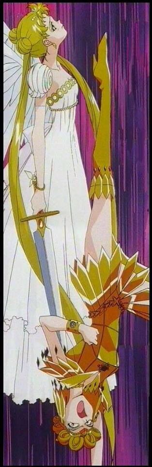Sailor Moon / Serenity vs Galaxia