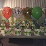 Baby Shower Ideas for Girls Decorations Diy Simple Lovely Safari Centerpieces … Baby Shower