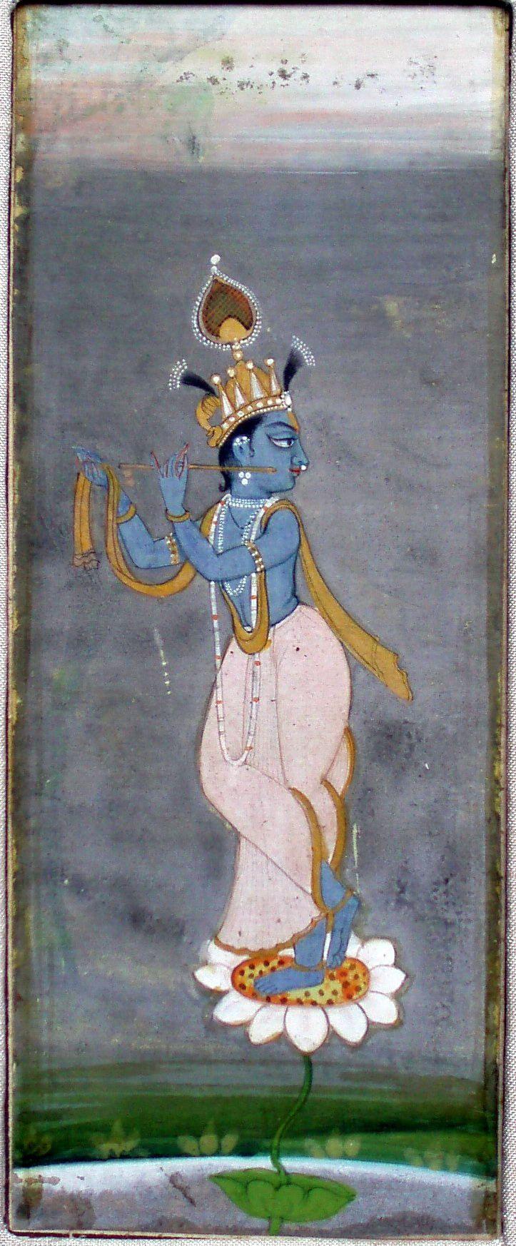 Krishna Venugopala. Bikaner, circa 1750. 17.5cm by 10cm.