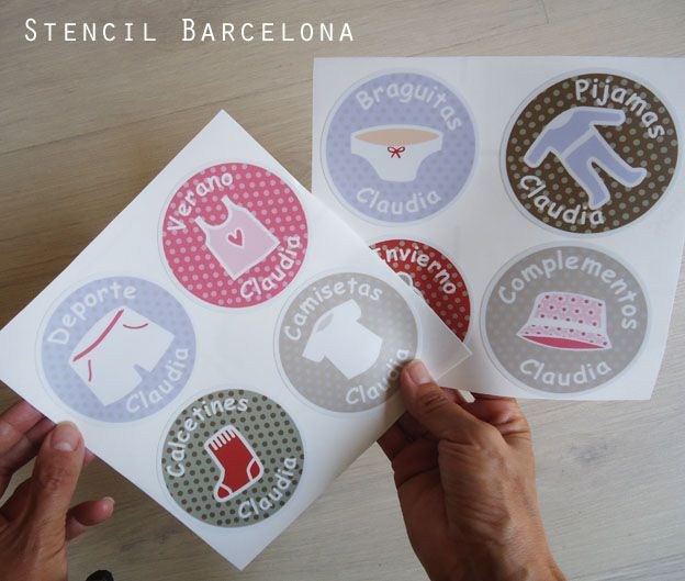 26 best albumes infantiles images on pinterest barcelona - Stencil barcelona ...