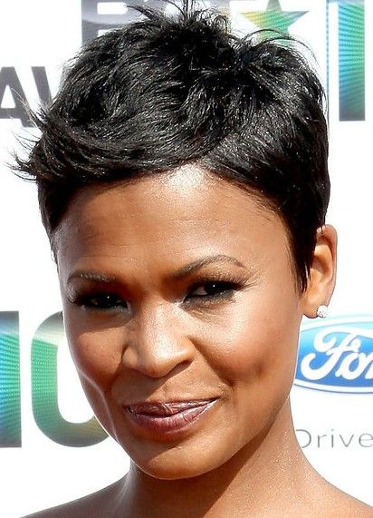 Hairstyles For Black Permed Hair Medium Length : Best 20 black pixie haircut ideas on pinterest pixie cuts