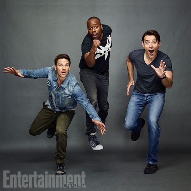 Comic-Con 2016 Star Portraits: Day 3 | Matt Lanter, Malcolm Barrett, and Goran Visnjic, 'Timeless' | EW.com