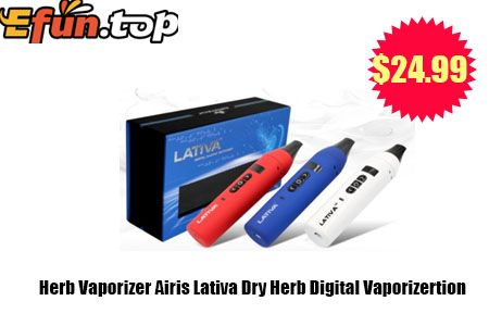 $24.99 Herb Vaporizer Airis Lativa Dry Herb Digital Vaporizertion