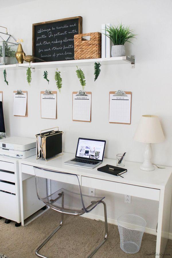 Office Organization Ideas And Minimalist Checklist Home Office