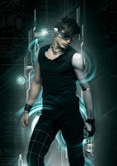 cyberpunk, android, cyborg, cyber man | Anime~Gaming~SciFi ...