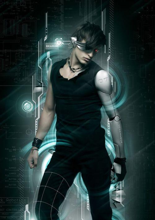 Image result for cyberpunk-art-sci-fi
