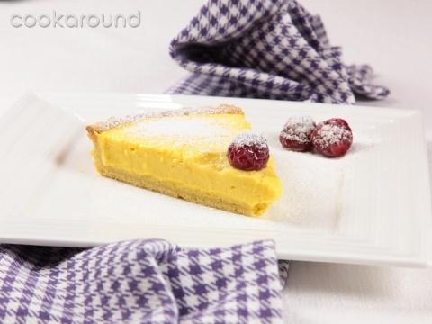 Crostata alla crema: Ricette Dolci | Cookaround